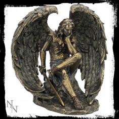 Statuetă bronz Înger Războinic - Sculptura