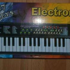 Orga muzicala pentru copii electrica - Instrumente muzicale copii Altele