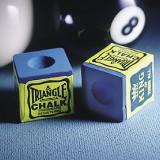Creta Biliard Triangle Albastra Set 12 buc - Joc board game