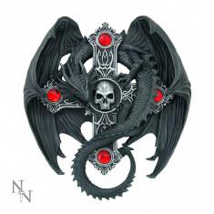 Plachetă decorativă pentru perete Gardianul Gotic