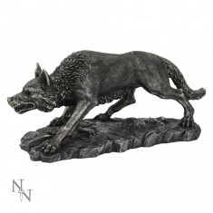 Statuetă Dire wolf- Lupul Străvechi - Sculptura