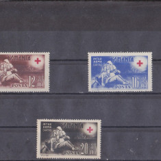 TRNS - CRUCEA ROSIE - AN 1943 - Timbre Romania, An: 1940, Nestampilat