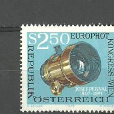 Austria 1973 - APARAT DE FOTOGRAFIAT, timbru nestampilat, U10