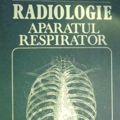 Radiologie aparatul respirator an 1983/398pag.- I.Pana, M.Vladareanu - Carte Radiologie