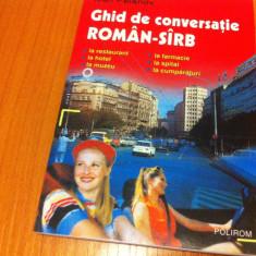Ghid de conversatie Altele roman sarb sirb calatorie turism hobby editura polirom 2002