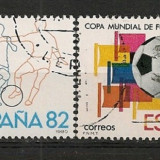 Spania 1982 - CAMPIONATUL MONDIAL FOTBAL, serie stampilata AD141A - Timbre straine