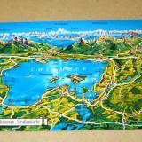 Harta munti lac - Chiemsee Bavaria Germania - 2+1 gratis - RBK16059 - Carte postala tematica, Circulata, Fotografie