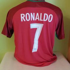 TRICOU RONALDO PORTUGALIA MARIMI DISPONIBILE XS, S, M, L, XL - Tricou echipa fotbal, Marime: L, M, S, Culoare: Din imagine, Nationala, Maneca scurta