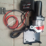 Troliu electric 1360kg (2500lbs ) 12V sufa 14m x 6mm