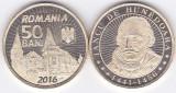 Moneda Romania 50 Bani 2016 - KM#NEW UNC ( comemorativa - Iancu de Hunedoara )