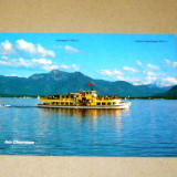 Vapor - munti - lac - Bavaria Germania - 2+1 gratis - RBK16061 - Carte postala tematica, Circulata, Fotografie