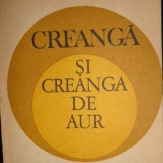 CREANGA SI CREANGA DE AUR AN 1989/407PAG= VASILE LOVINESCU - Carte Filosofie