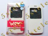 Husa Mercury WOW Bumper Samsung Galaxy S6 Edge G925 Alb Blister