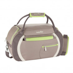 Geanta accesorii carucior BABYMOOV Sport Style - Almond Taupe