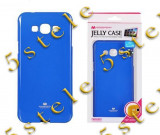 Husa Mercury Jelly Samsung A800 Galaxy A8 Albastru Blister, Alt model telefon Samsung, Gel TPU
