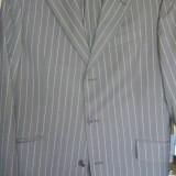 "Costum barbatesc ""JOOP"", marime 52 - Costum barbati, Culoare: Maro, 3 nasturi, Normal, Matase"