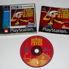 Joc Playstation 1 PS1 - Lucky Luke Western Fever Altele, Actiune, Toate varstele, Single player