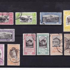 ROMANIA 1906, LP 63, EXPOZITIA GENERALA SERIE STAMPILATA, LOT 3 RO - Timbre Romania