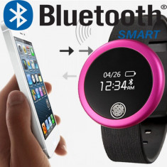 Smartwatch bluetooth ceas destept bratara fitness unisex