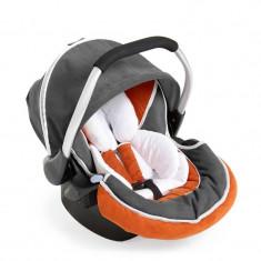 Scoica auto HAUCK Zero Plus Select - Orange Grey - Scaun auto copii Hauck, 0+ (0-13 kg)