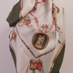 CELINE PARIS -ESARFA VINTAGE SUPERBA MATASE NATURALA, ORIGINALA - Batic Dama Celine, Culoare: Din imagine