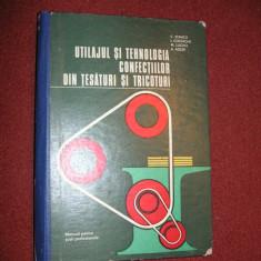 Utilajul si tehnologia confectiilor din tesaturi si tricoturi - C. Stanciu