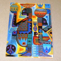 Felicitare arta africana - Senegal - 2+1 gratis - RBK16116