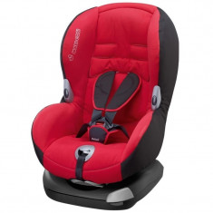 Scaun auto copii Maxi Cosi Priori XP - Deep Red, 1-2-3 (9-36 kg)