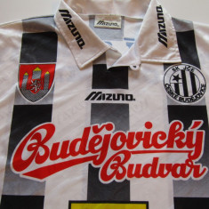 Tricou fotbal - SK CESKE BUDEHOVICE (Cehia) - Tricou echipa fotbal, Marime: XXL, Culoare: Din imagine, De club, Maneca scurta