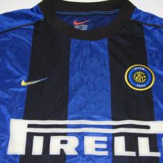 Tricou NIKE fotbal - FC INTERNAZIONALE MILANO - Tricou echipa fotbal, Marime: L, Culoare: Din imagine, De club, Maneca scurta