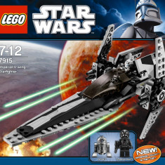LEGO - Star Wars - Imperial V-wing Starfighter #7915, 10-14 ani