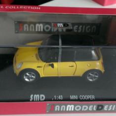Macheta Mini Cooper - scara 1/43 SMD - noua in cutie - Macheta auto