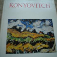 Konyovitch pictura album arta cultura carte ilustrata color