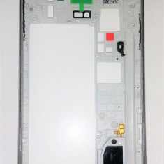 Carcasa mijloc Samsung Galaxy Note 4 N910F+Bonus banda dublu adeziva OEM noua