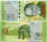Venezuela 50 bolivares 20012 - UNC