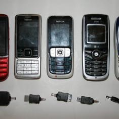 LOT DE 5 TELEFOANE, Gri, <1GB, Neblocat, Fara procesor, Nu se aplica