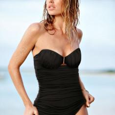 Costum de baie intreg Victoria's Secret marime XS; victoria victorias, Marime: 70, Culoare: Negru, Bikini