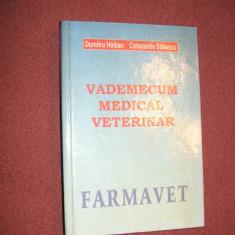 Vademecum Medical Veterinar - Dumitru Holban C. Statescu - Carte Medicina veterinara