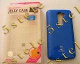 Husa Mercury Jelly LG G2 Blue Blister