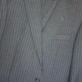 Costum barbatesc, lana, stare IMPECABILA! - Costum barbati, Marime: 54, Culoare: Gri, 3 nasturi, Marime sacou: 54, Normal