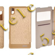 Husa Mercury Wow Bumper Samsung Galaxy S7 Edge Gold Blister