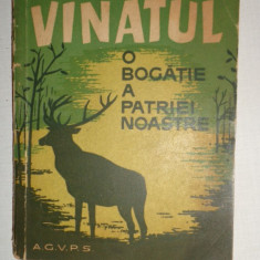 VANATUL O BOGATIE A PATRIEI NOASTRE 147PAGINI= AL.FILIPASCU