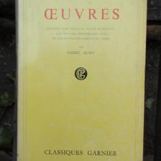 OEUVRES - FRANCOIS VILLON - Carte poezie