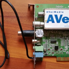 TV tuner AVerTV - TV-Tuner PC, PCI Express, Intern