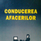 CONDUCEREA AFACERILOR - DAN POPESCU (1995) - Carte Management