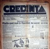 ZIAR VECHI CREDINTA - 27 NOIEMBRIE 1935