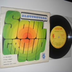 ELECTRECORD SOUL GROUP: In The Heat /Funky Street, etc. (1970)(vinil EP 4 piese)