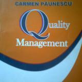 QUALITY MANAGEMENT - LECT. UNIV. DR. CARMEN PAUNESCU (2006) - Carte Management
