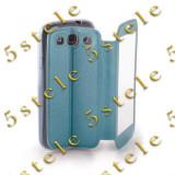 Husa Smart View Apple iPhone 4 / 4S Albastru - Husa Telefon