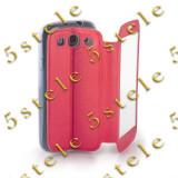 Husa Smart View Apple iPhone 4 / 4S Pink - Husa Telefon, Roz